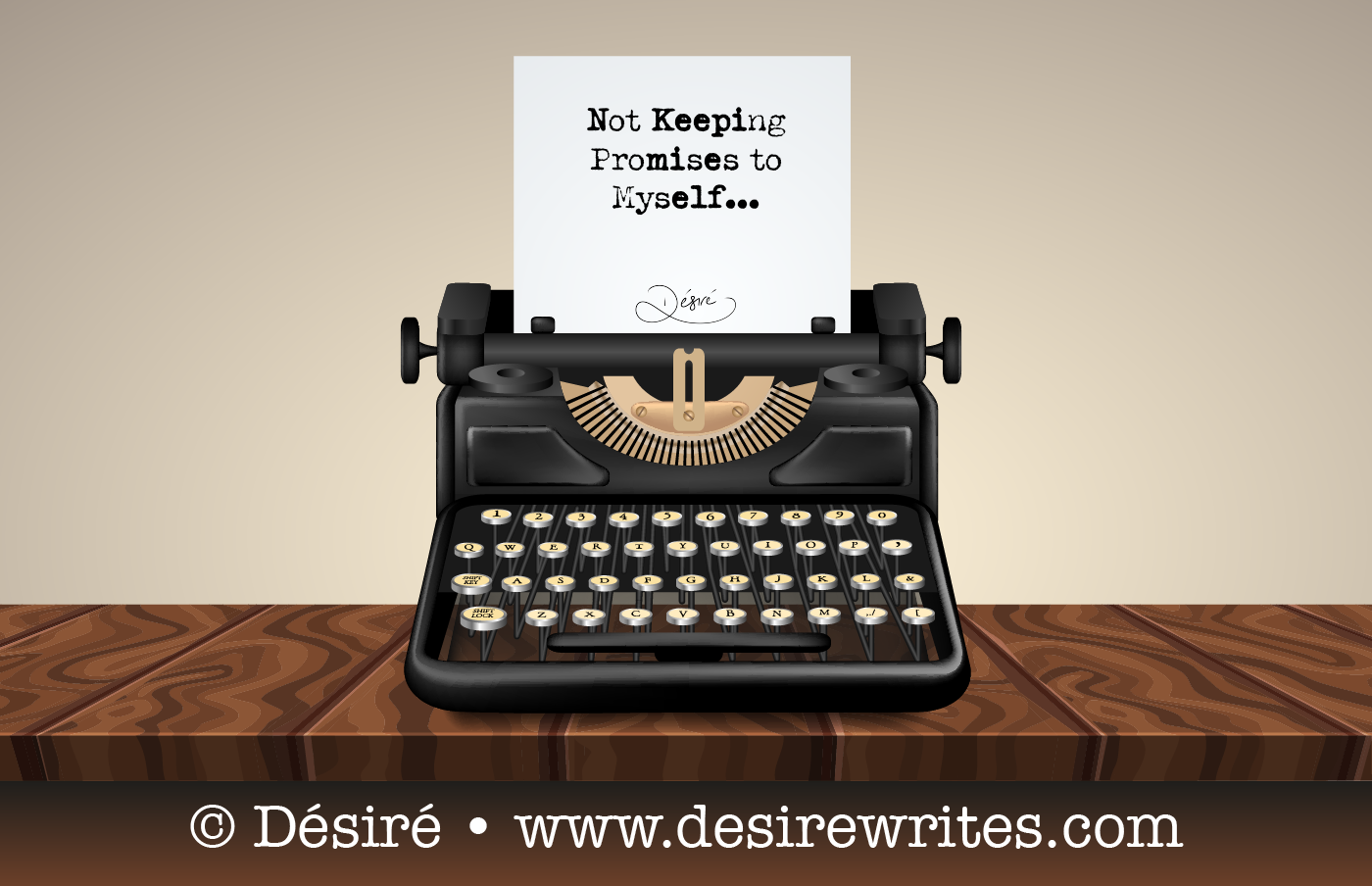 Not Keeping Promises to Myself and my Struggles as a Writer