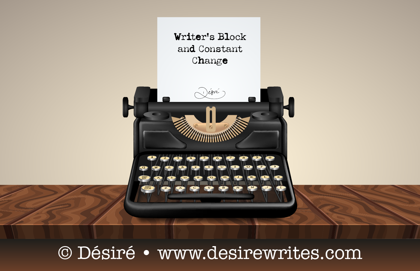 Writer's Block and Constant Change