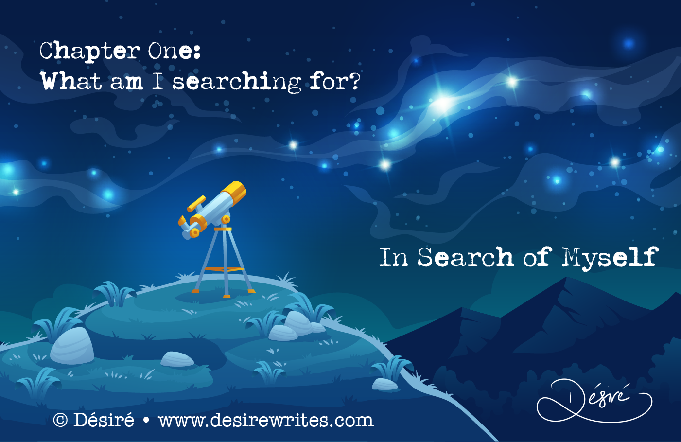 Chapter One: What am I searching for?