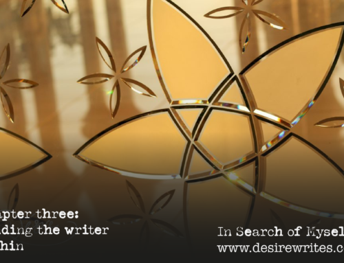 Chapter three: finding the writer within